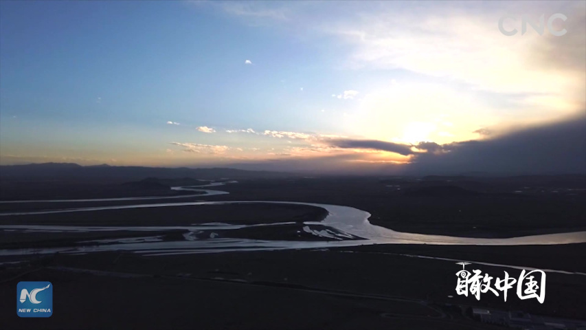 ChinaFromAbove|Qinghai: Source of the Yellow River